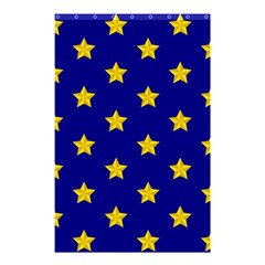Star Pattern Shower Curtain 48  X 72  (small)  by Nexatart