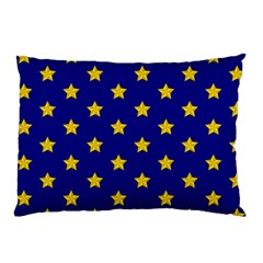 Star Pattern Pillow Case (two Sides) by Nexatart