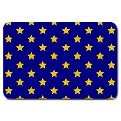 Star Pattern Large Doormat  by Nexatart