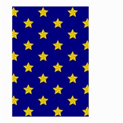 Star Pattern Small Garden Flag (two Sides) by Nexatart
