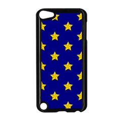 Star Pattern Apple Ipod Touch 5 Case (black) by Nexatart