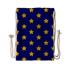Star Pattern Drawstring Bag (small) by Nexatart