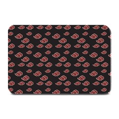 Cloud Red Brown Plate Mats by Mariart