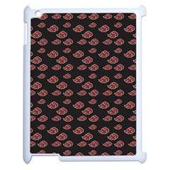 Cloud Red Brown Apple Ipad 2 Case (white) by Mariart