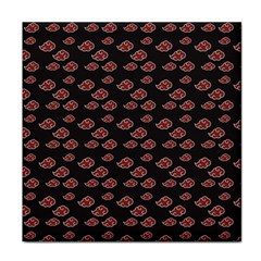 Cloud Red Brown Face Towel