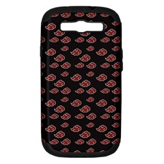 Cloud Red Brown Samsung Galaxy S Iii Hardshell Case (pc+silicone) by Mariart