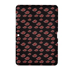 Cloud Red Brown Samsung Galaxy Tab 2 (10 1 ) P5100 Hardshell Case  by Mariart