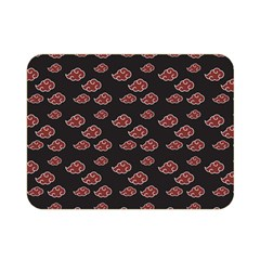 Cloud Red Brown Double Sided Flano Blanket (mini)
