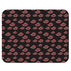 Cloud Red Brown Double Sided Flano Blanket (medium)  by Mariart