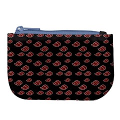 Cloud Red Brown Large Coin Purse by Mariart