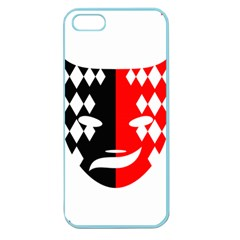 Face Mask Red Black Plaid Triangle Wave Chevron Apple Seamless Iphone 5 Case (color) by Mariart
