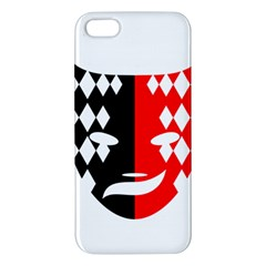 Face Mask Red Black Plaid Triangle Wave Chevron Iphone 5s/ Se Premium Hardshell Case by Mariart