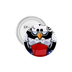 Grandma Penguin 1 75  Buttons by Nexatart