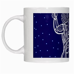 Gemini Zodiac Star White Mugs by Mariart