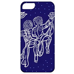 Gemini Zodiac Star Apple Iphone 5 Classic Hardshell Case by Mariart