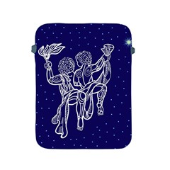 Gemini Zodiac Star Apple Ipad 2/3/4 Protective Soft Cases by Mariart