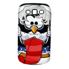 Grandma Penguin Samsung Galaxy S Iii Classic Hardshell Case (pc+silicone) by Nexatart