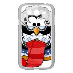 Grandma Penguin Samsung Galaxy Grand Duos I9082 Case (white) by Nexatart