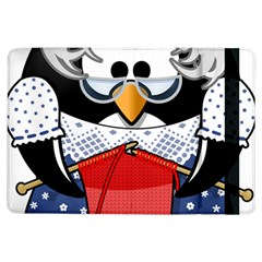Grandma Penguin Ipad Air Flip by Nexatart