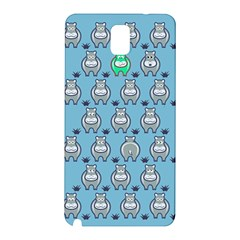 Funny Cow Pattern Samsung Galaxy Note 3 N9005 Hardshell Back Case by Nexatart
