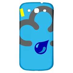 Light Rain Shower Cloud Sun Yellow Blue Sky Samsung Galaxy S3 S Iii Classic Hardshell Back Case by Mariart