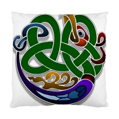 Celtic Ornament Standard Cushion Case (one Side) by Nexatart
