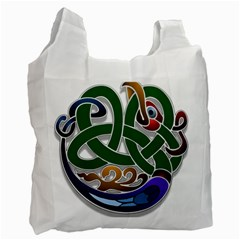 Celtic Ornament Recycle Bag (one Side)