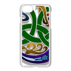 Celtic Ornament Apple Iphone 7 Seamless Case (white) by Nexatart