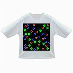 Neons Couleurs Circle Light Green Red Line Infant/toddler T Shirts