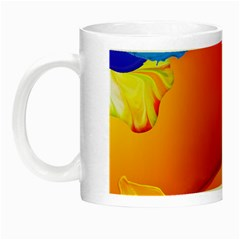 Paint Rainbow Color Blue Red Green Blue Purple Night Luminous Mugs by Mariart