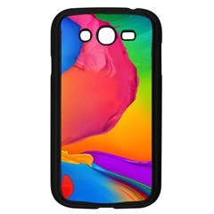 Paint Rainbow Color Blue Red Green Blue Purple Samsung Galaxy Grand Duos I9082 Case (black) by Mariart
