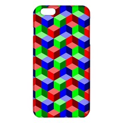 Seamless Rgb Isometric Cubes Pattern Iphone 6 Plus/6s Plus Tpu Case by Nexatart