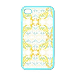 Crane White Yellow Bird Eye Animals Face Mask Apple Iphone 4 Case (color) by Mariart