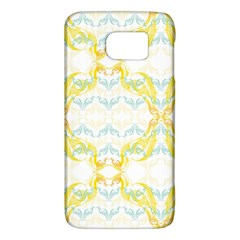 Crane White Yellow Bird Eye Animals Face Mask Galaxy S6 by Mariart
