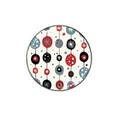 Retro Ornament Pattern Hat Clip Ball Marker (10 Pack) by Nexatart