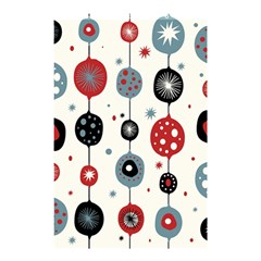 Retro Ornament Pattern Shower Curtain 48  X 72  (small)  by Nexatart