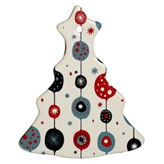 Retro Ornament Pattern Ornament (christmas Tree)  by Nexatart