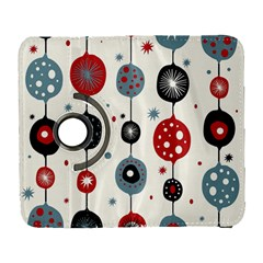 Retro Ornament Pattern Galaxy S3 (flip/folio) by Nexatart