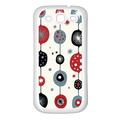 Retro Ornament Pattern Samsung Galaxy S3 Back Case (white) by Nexatart
