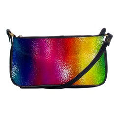 Color Glass Rainbow Green Yellow Gold Pink Purple Red Blue Shoulder Clutch Bags by Mariart