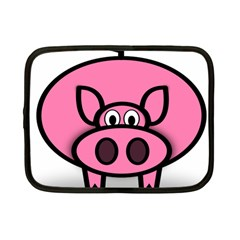 Pork Pig Pink Animals Netbook Case (small)  by Mariart