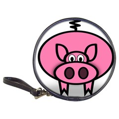 Pork Pig Pink Animals Classic 20 Cd Wallets by Mariart