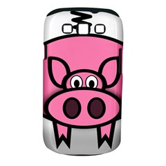 Pork Pig Pink Animals Samsung Galaxy S Iii Classic Hardshell Case (pc+silicone) by Mariart