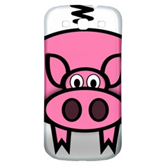 Pork Pig Pink Animals Samsung Galaxy S3 S Iii Classic Hardshell Back Case by Mariart
