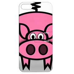 Pork Pig Pink Animals Apple Iphone 5 Hardshell Case With Stand by Mariart