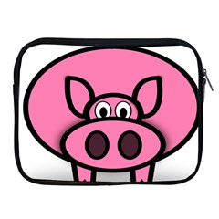 Pork Pig Pink Animals Apple Ipad 2/3/4 Zipper Cases by Mariart