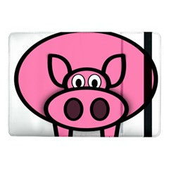 Pork Pig Pink Animals Samsung Galaxy Tab Pro 10 1  Flip Case by Mariart