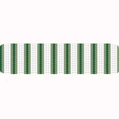 Plaid Line Green Line Vertical Large Bar Mats by Mariart