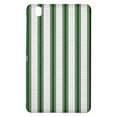 Plaid Line Green Line Vertical Samsung Galaxy Tab Pro 8 4 Hardshell Case by Mariart