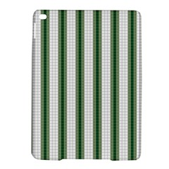 Plaid Line Green Line Vertical Ipad Air 2 Hardshell Cases by Mariart